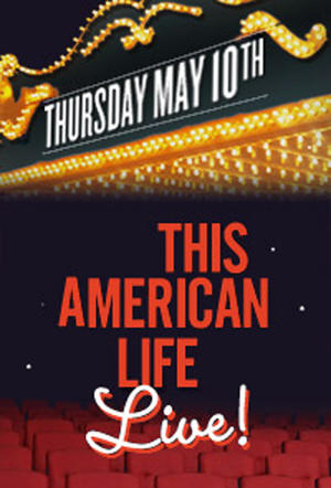 """Poster art for """"This American Life LIVE 2012."""""""