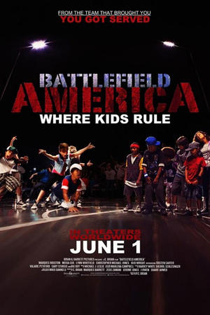 "Poster art for ""Battlefield America."""