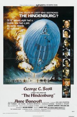 "Poster art for ""The Hindenburg."""