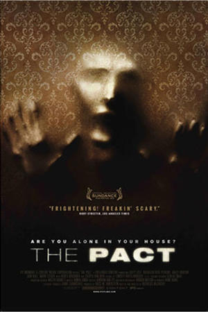 "Poster art for ""The Pact."""