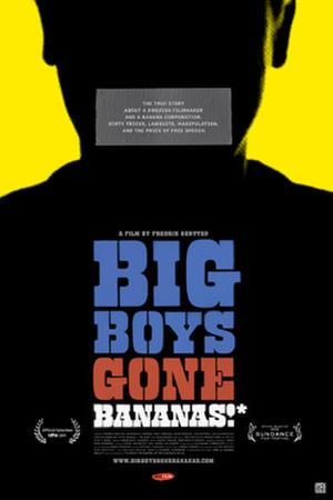 "Poster art for ""Big Boys Gone Bananas*""."