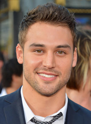 "Ryan Guzman at the California premiere of ""Step Up Revolution."""