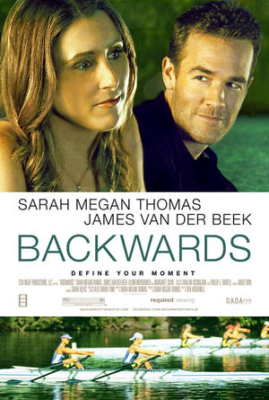 "Poster art for ""Backwards."""