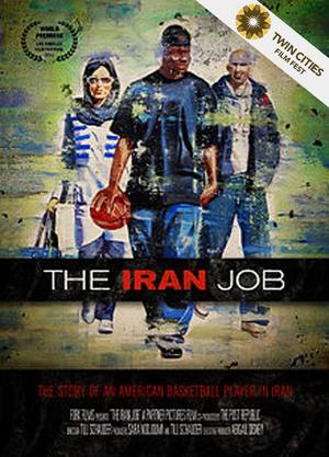 "Poster art for ""The Iran Job."""