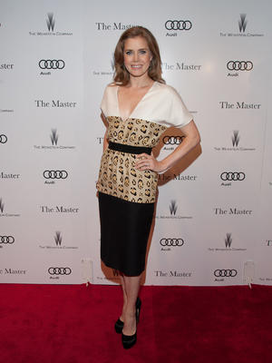 "Amy Adams at the New York premiere of ""The Master."""