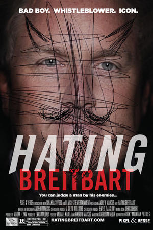 "Poster art for ""Hating Breitbart."""