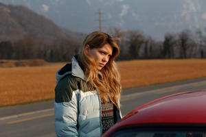 "Lea Seydoux as Louise in ""Sister."""