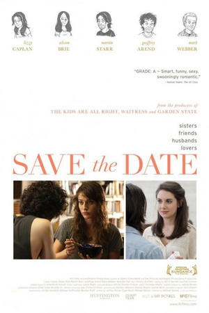 "Poster art for ""Save the Date."""