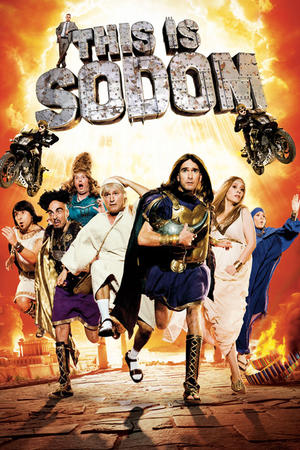 """Poster art for """"This is Sodom."""""""