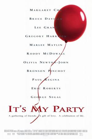 "Poster art for ""It's My Party."""