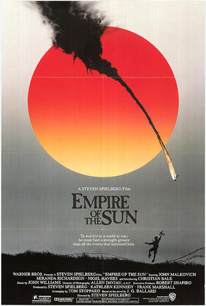 "Poster art for ""Empire of the Sun."""