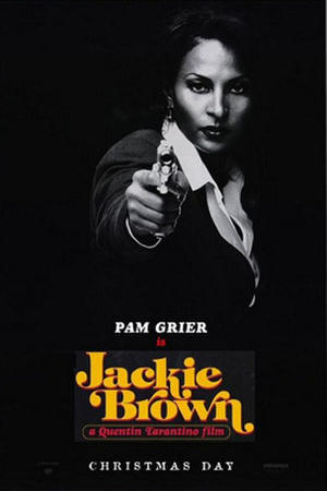 "Poster art for ""Jackie Brown."""
