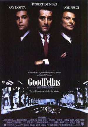 "Poster art for ""Goodfellas."""