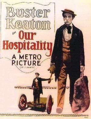 "Poster art for ""Our Hospitality."""