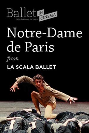 """Poster art for """"Notre Dame de Paris (La Scala Ballet)."""""""