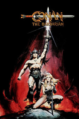 "Poster art for ""Conan the Barbarian."""
