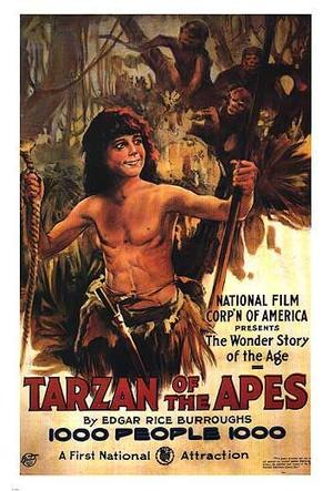 "Poster art for ""Tarzan of the Apes."""