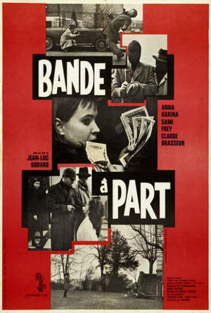 """Poster art for """"Band of Outsiders."""""""