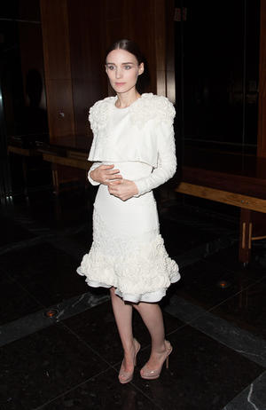 "Rooney Mara at the after party of the New York premiere of ""Side Effects."""