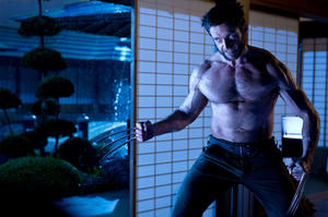 "Hugh Jackman as Logan in ""The Wolverine."""
