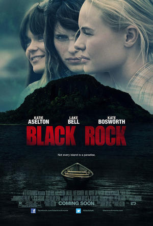 "Poster art for ""Black Rock."""