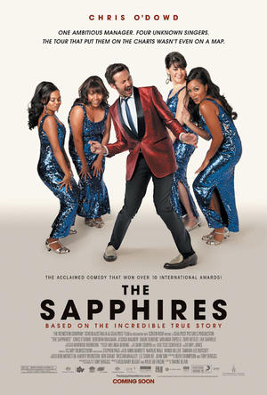 "Poster art for ""The Sapphires."""