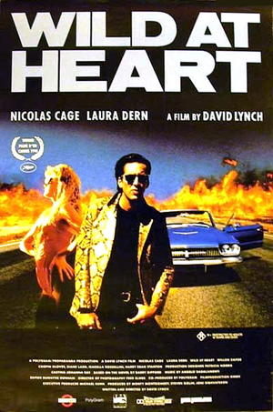 """Poster art for """"Wild at Heart."""""""
