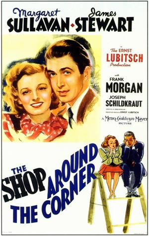 """Poster art for """"The Shop Around the Corner."""""""