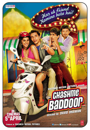"Poster art for ""Chashme Baddoor."""
