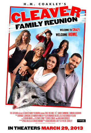 "Poster art for ""Cleaver Family Reunion."""
