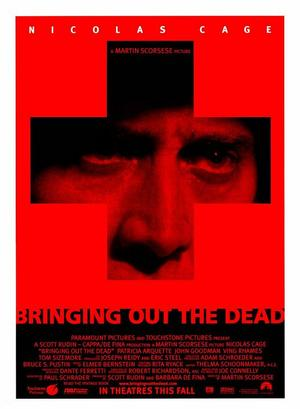 "Poster art for ""Bringing Out the Dead."""