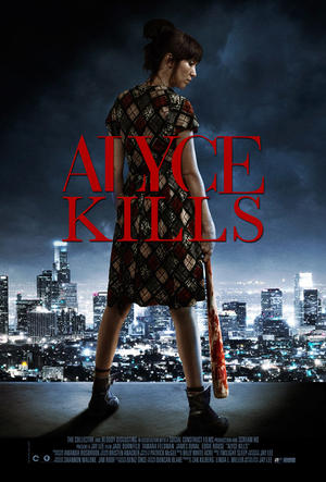 "Poster art for ""Alyce Kills."""