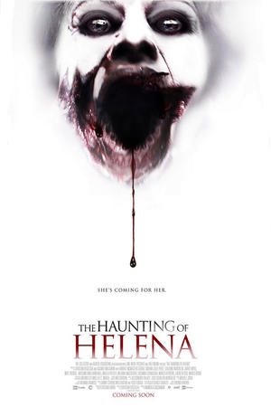"Poster art for ""The Haunting of Helena."""