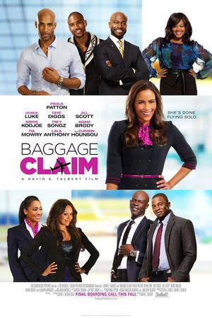 "Poster art for ""Baggage Claim."""