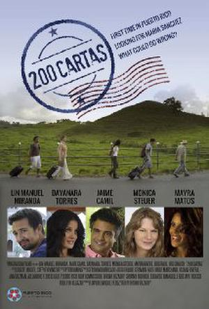 "Poster art for ""200 Cartas."""