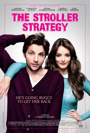 "Poster art for ""The Stroller Strategy."""