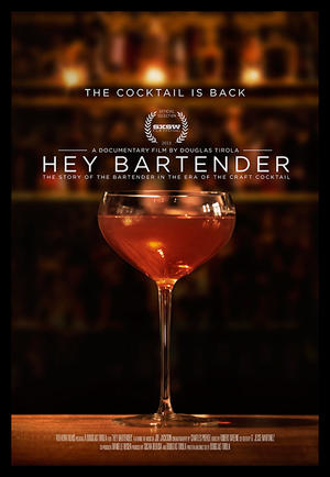 "Poster art for ""Hey Bartender."""