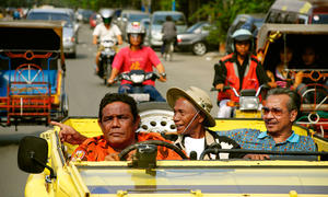 "A scene from ""The Act of Killing."""