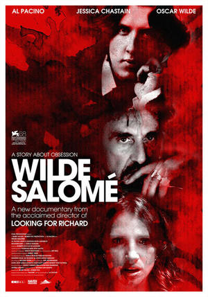 "Poster art for ""Wilde Salome."""