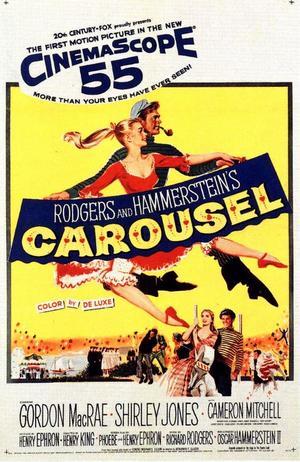 """Poster art for """"Carousel."""""""