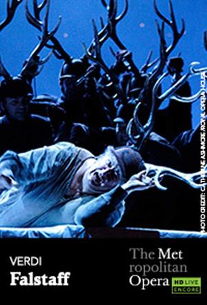 "Poster art for ""The Metropolitan Opera: Falstaff Encore."""