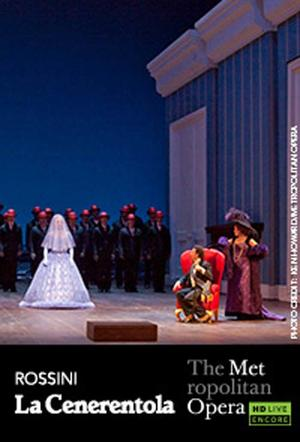 "Poster art for ""The Metropolitan Opera: La Cenerentola Encore."""