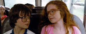 "Chandler Canterbury and Annalise Basso in ""Standing Up."""