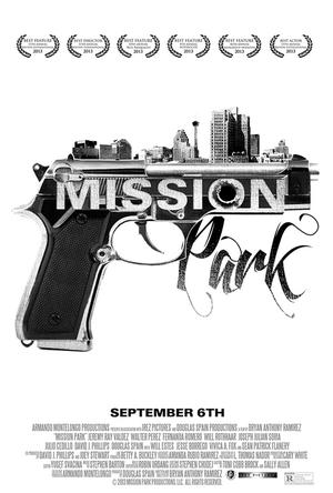 "Poster art for ""Mission Park."""