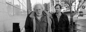 "Bruce Dern and Will Forte in ""Nebraska."""