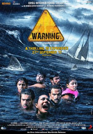 """Poster art for """"Warning."""""""