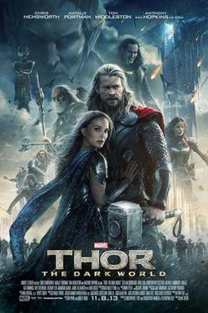 "Poster art for ""Thor: The Dark World."""