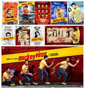 """Poster art for """"Mickey Virus."""""""