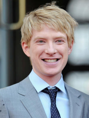 "Domhnall Gleeson at the World premiere of ""About Time."""