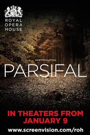 "Poster art for ""Parsifal."""